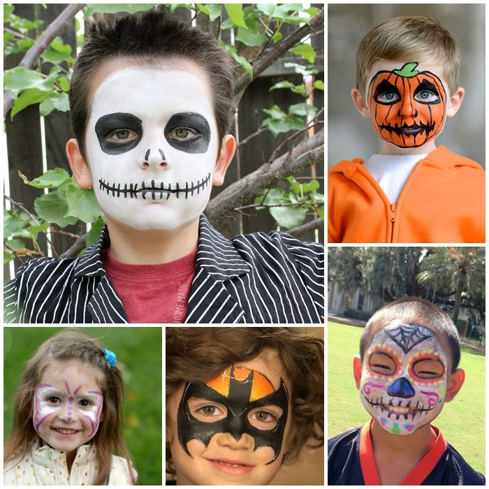 Kids Face Painting Ideas For Halloween Face Painting Halloween Face Painting Halloween Kids Diy Halloween Face Paint