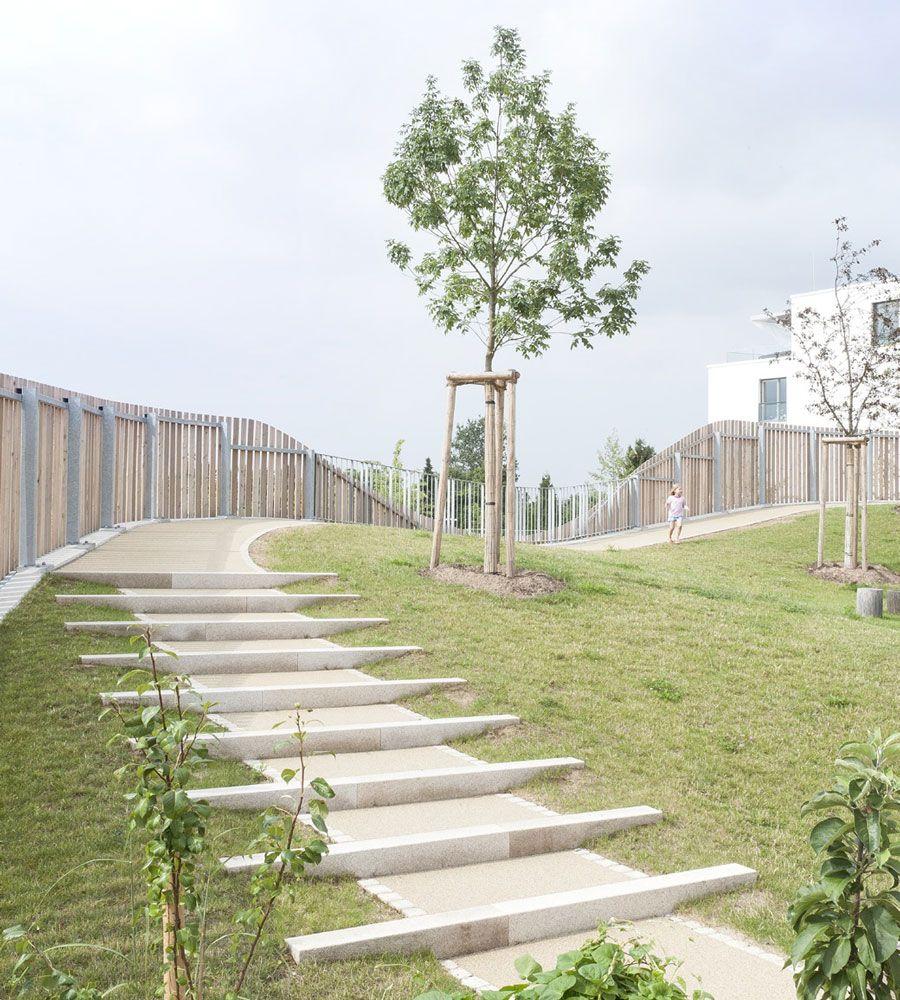 Landscape Design In A Day: Children Day Care Center In New Public Plaza By Behnisch