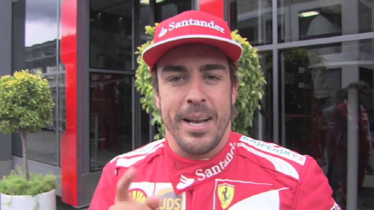 Fernando Alonso's Ice Bucket Challenge  /.@alo_oficial accepted ALS Ice Bucket Challenge and nominated Placido Domingo,Flavio Briatore and Luca di Montezemolo