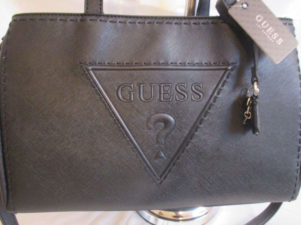 eb0beb262c87 Guess Black Shopper Crossbody Style VY637107 Group Baldwinpark Handbag  Brand New  GUESS  TotesShoppers