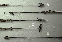 Formes De Harpons Le Harpon A Double Tranchant A Fut Longtemps