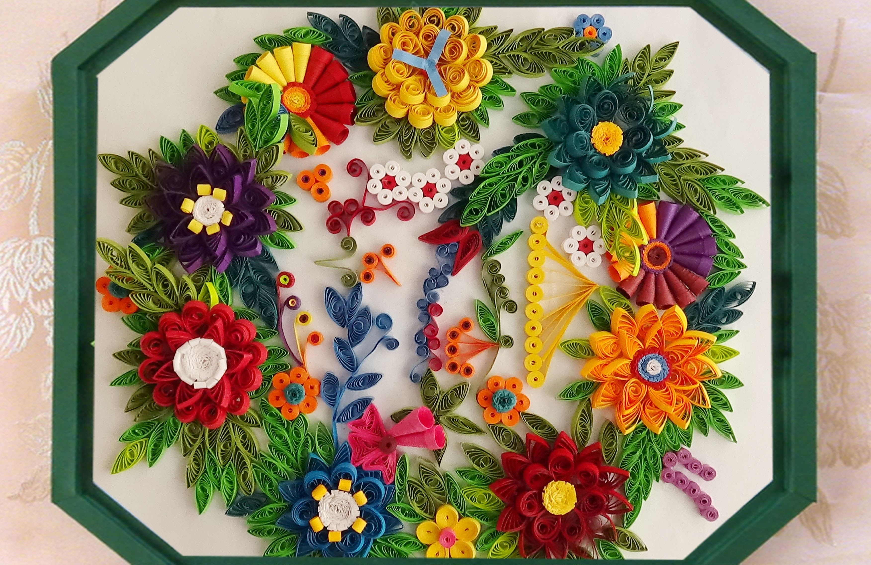 How To Make Beautiful Quilling Flower Designs Pinterest Quilling