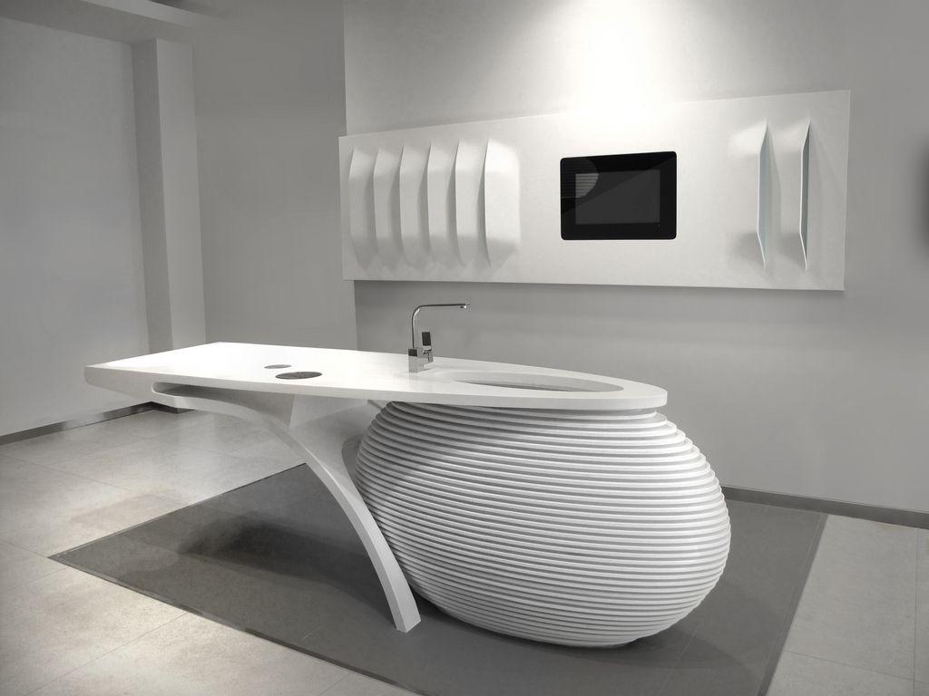 Krion: Un Solid Surface Del Grupo Porcelanosa, Que Nos Brinda Infinitas  Posibilidades.