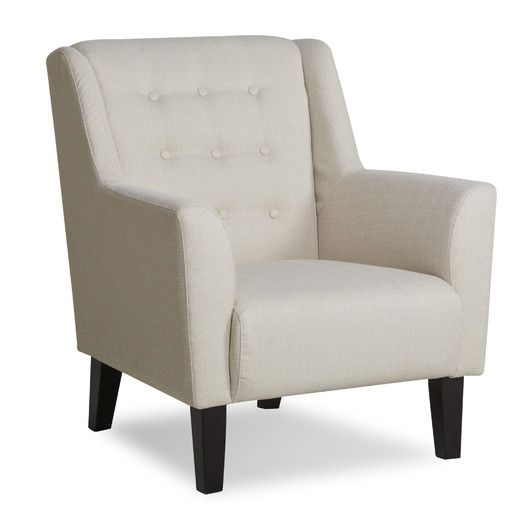 Gold Sparrow Providence Button Tufted Arm Chair | AllModern