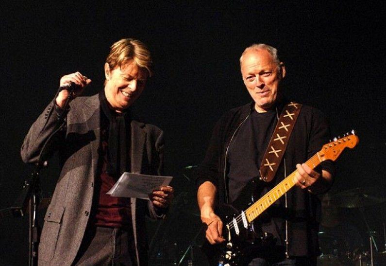 David Gilmour David Bowie Comfortably Numb Berussa Musicart David Gilmour David Bowie Comfortably Numb