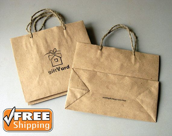 Personalized Gift Bags * Custom Printed Gift Bags * Recycled Paper Gift Bags with Handles * Personalised Gift Bags Company Logo * Favor Bags