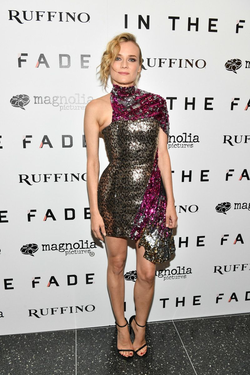 Diane Kruger Is Jumping on the Sequins Trend Early ...