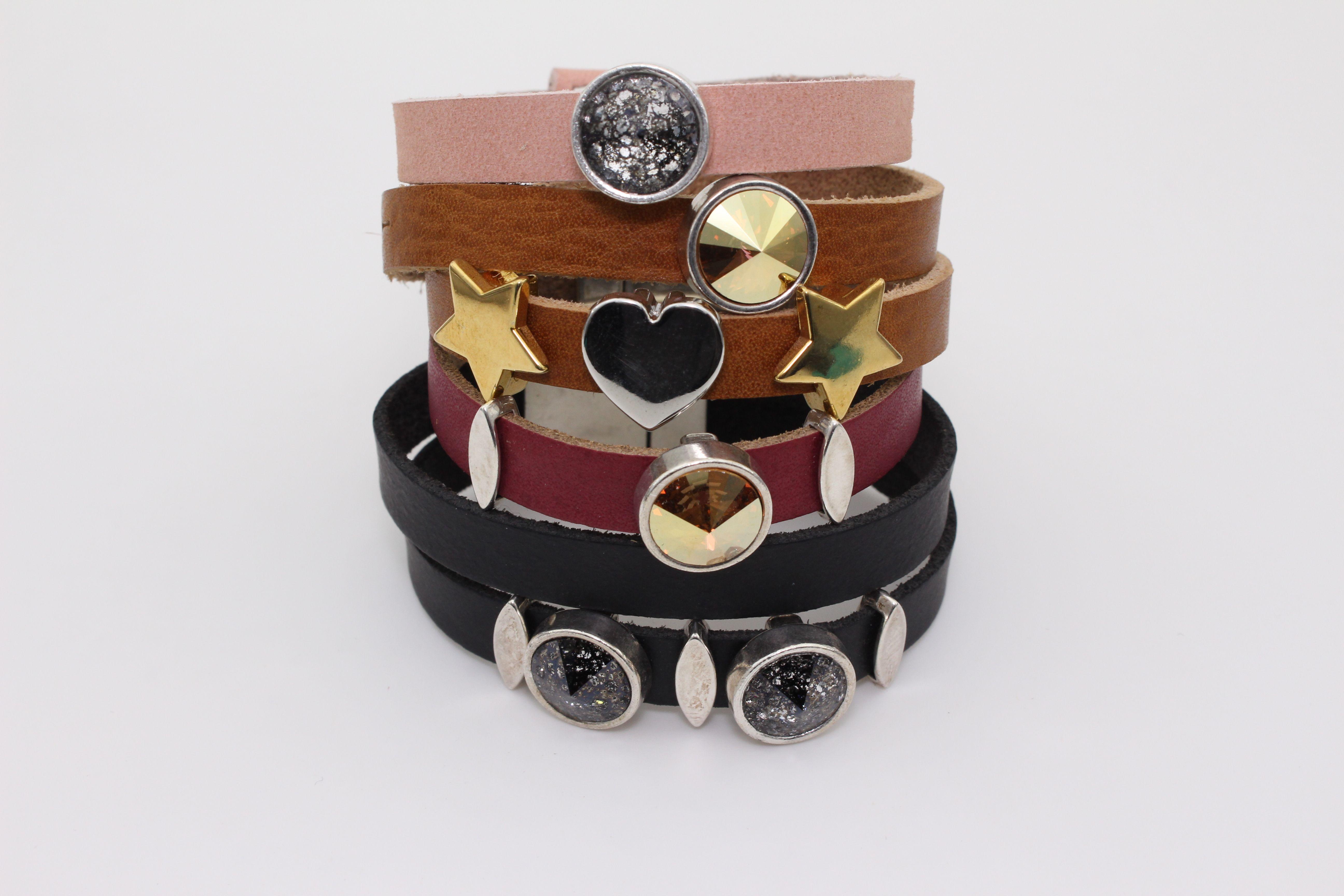 Armbänder mit Swarovski-Kristallen