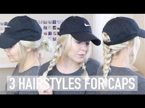 Astonishing 3 Hairstyles For Caps Baseball Hat Hairstyles Baseball Cap Schematic Wiring Diagrams Amerangerunnerswayorg