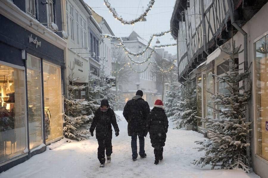 Om der i år kommer helt så meget sne som her, er der dog endnu ikke noget, der tyder på. (Arkivfoto: Thomas Sjørup)