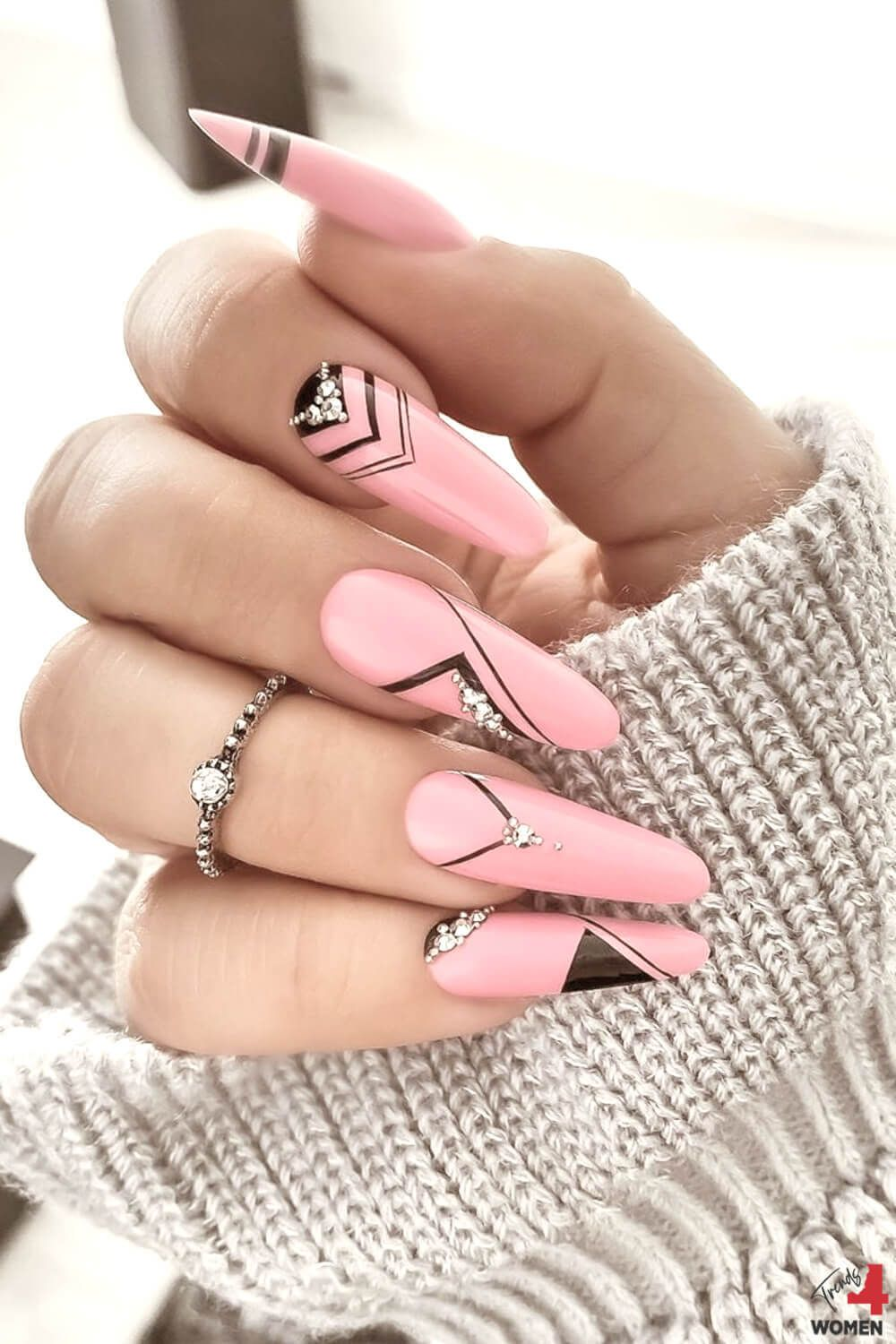 How to Stamp Nail Art - Tips and Tricks | Trends For Women