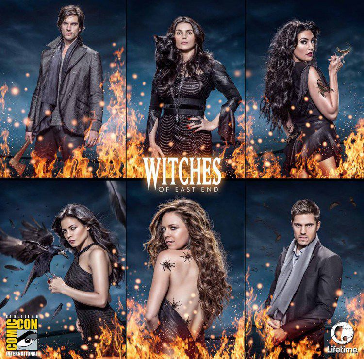 Witches Of East End Comic Con Poster New Teaser Trailer And