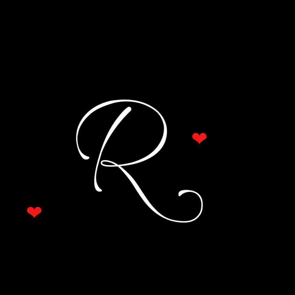 Mystery Lady In Black Letter R Tattoo Picture Letters Alphabet Letters Design