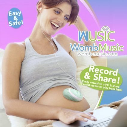 Its Like Music to a Mommys Ears! Listen to The Sounds Your Baby Makes with The Womb Music by Wusic