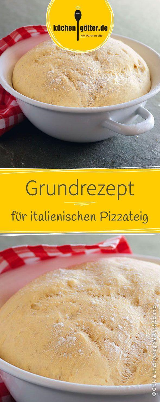 vollkorn pizza pizzateigmittrockenhefeblech