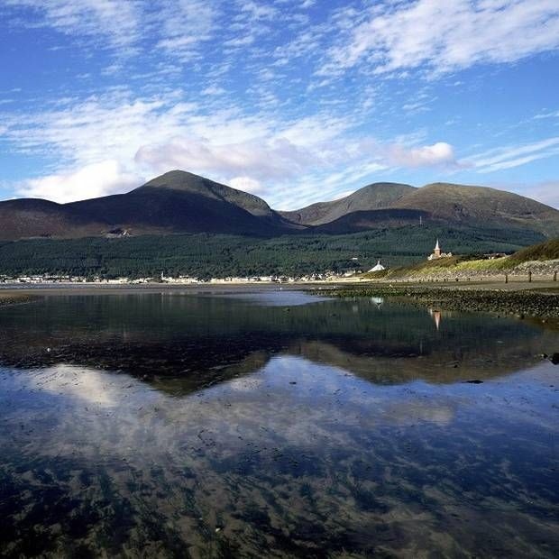 Ireland was once two islands with the Mountains of Mourne as hot as California's Death Valley