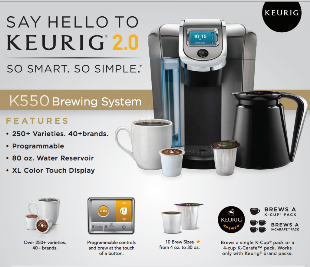 Keurig 2.0 Review HolidayGiftGuide Keurig, Coffee maker