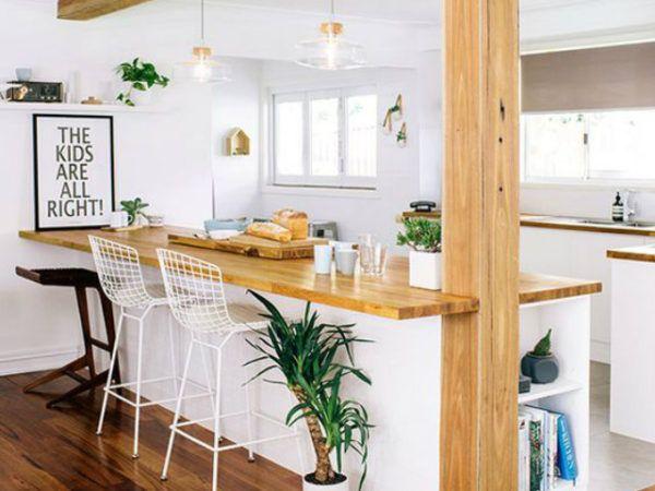 20 mejores ideas cocina americana madera cocina for Muebles para cocina americana