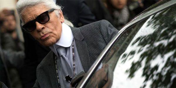 Karl Lagerfeld salue la «vengeance» de Valérie Trierweiler –