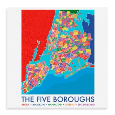 I Saw This Online At Bed Bath And Beyond Five Boroughs Framed