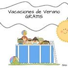 This is a cute packet for younger elementary students thinking about summer and summer vacations.  100% in Spanish, it can be used in Dual Language...