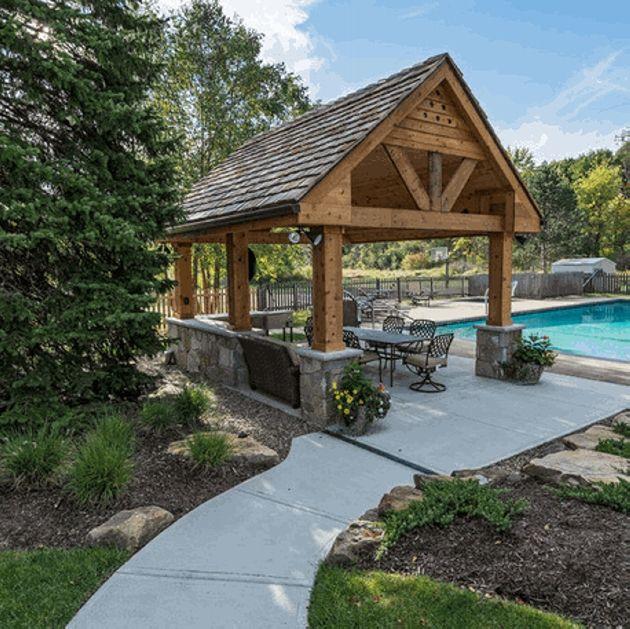 17 terbaik ide tentang gazebo roof di pinterest construction dan sendi kayu