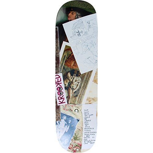 Krooked Worrest Collage Deck 838 Assembled as COMPLETE Skateboard -- Check out the image by visiting the link.