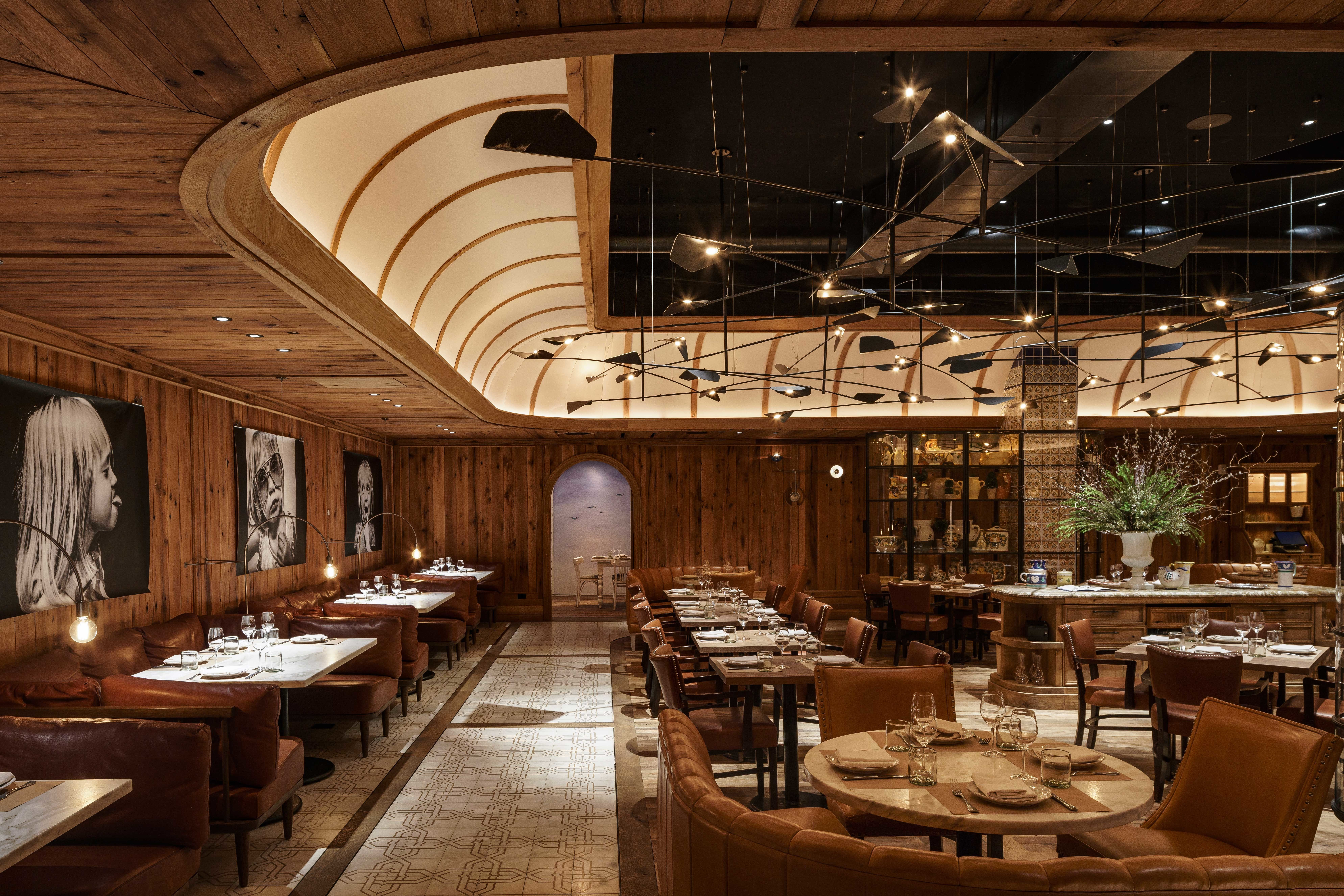 The Restaurant Design Trends You'll See Everywhere in 2018 | Dine | Restaurant design ...
