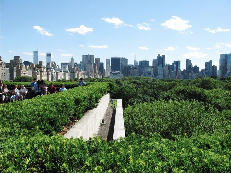 Rooftop At The Met Garden Cafe Rooftop Sarah S Garden