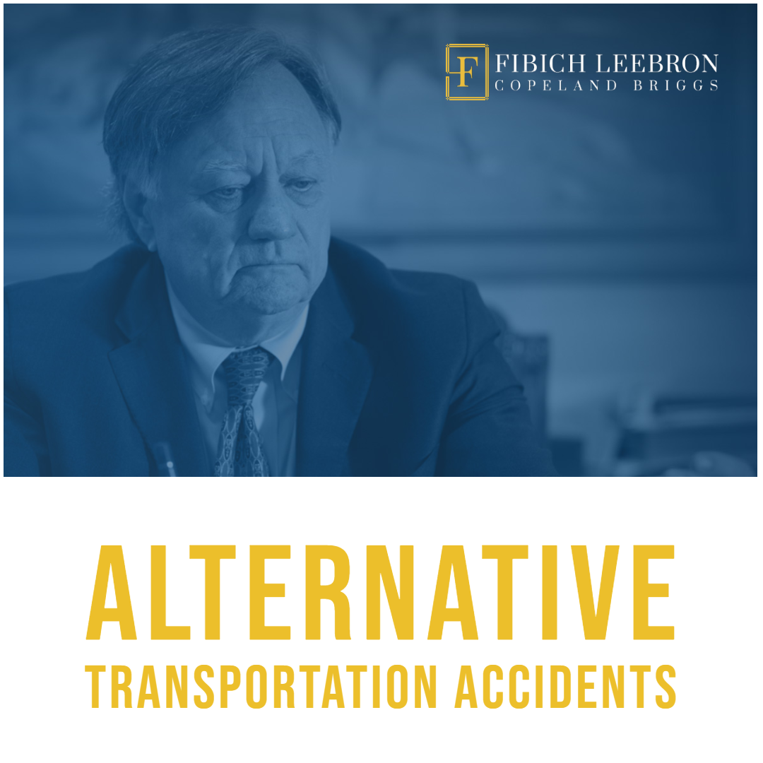 Were you injured in an accident involving bus, rail, or