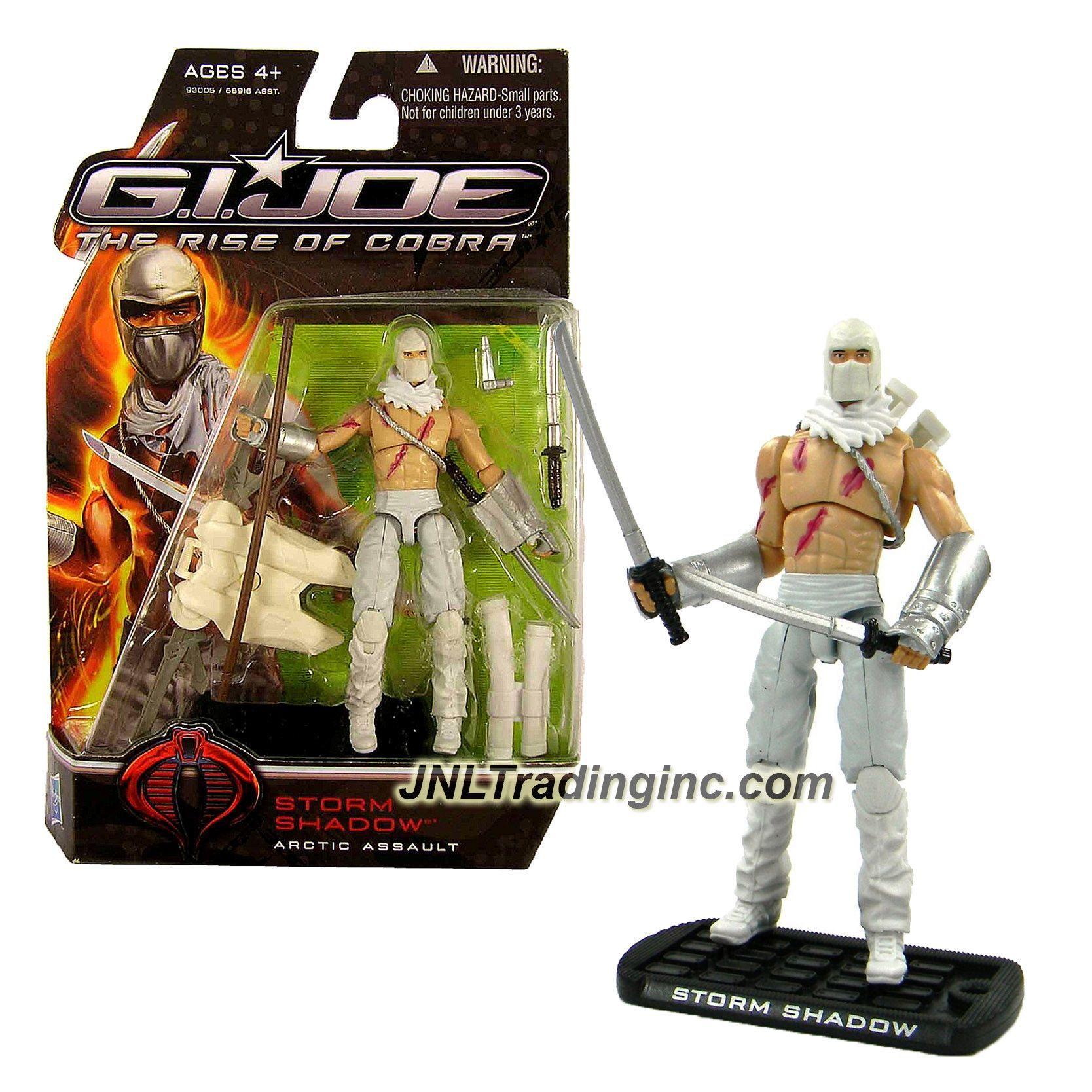 NEW Joe The Rise Of Cobra Storm Shadow Arctic Assault Action Figure G.I