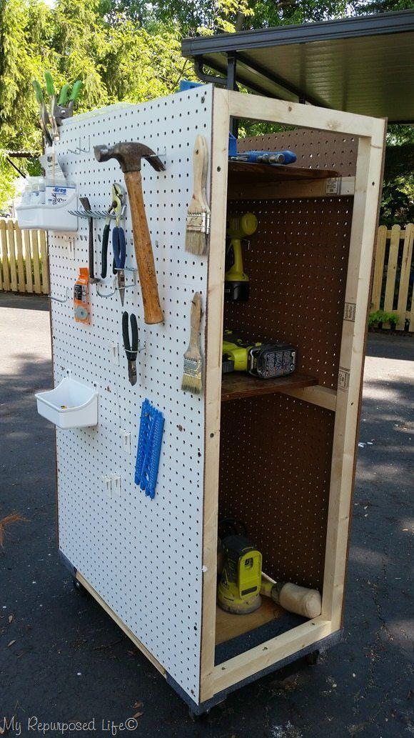 portable tool storage peg board rolling cart Das schönste Bild für giant Pegboard  das zu Ihrem Vergnügen passt Sie suchen etwas und haben nicht das beste...