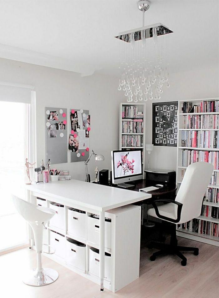 Zimmergestaltung - tolle Ideen für die Einrichtung des Heimbüros ...