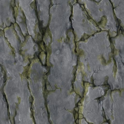 painting rock texture