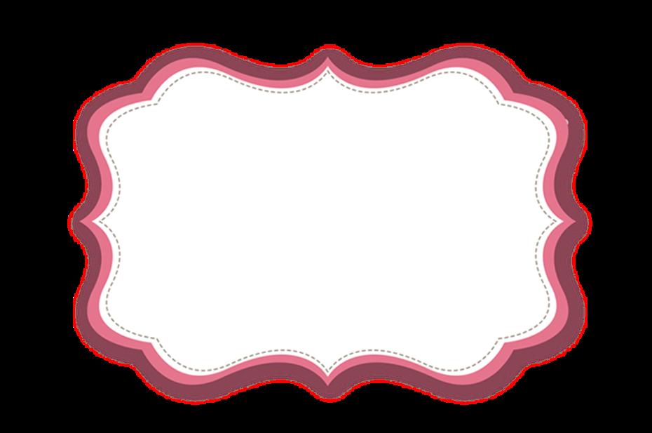 Frame Png Rosa Claro Wallsviews Co Moldura Rosa Png Frame Rosa Etiquetas Em Branco