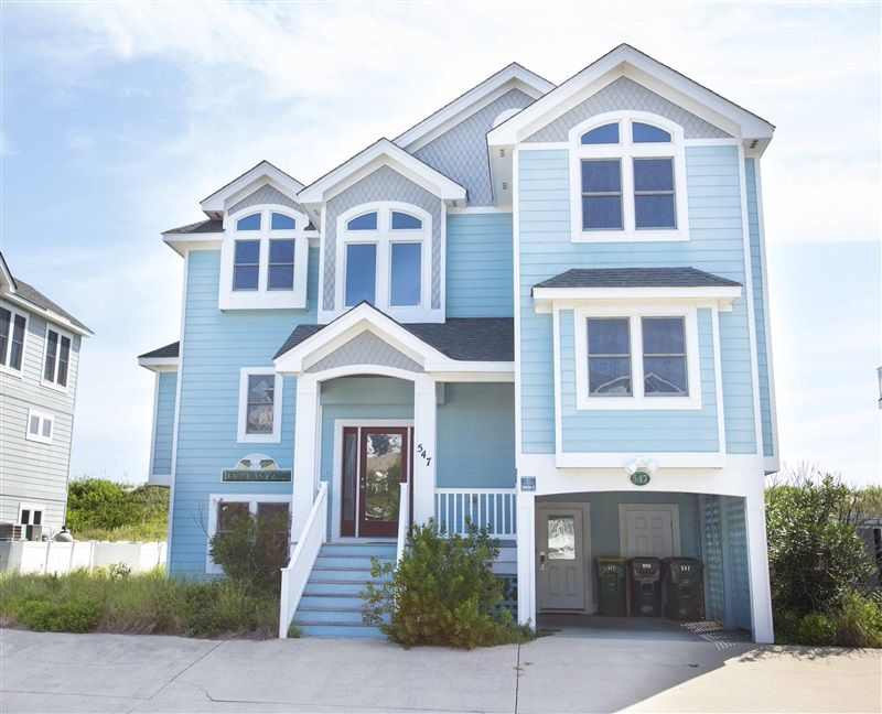 Happy as clams 218 vacation rentals corolla l new to for Outdoor elevators for beach houses