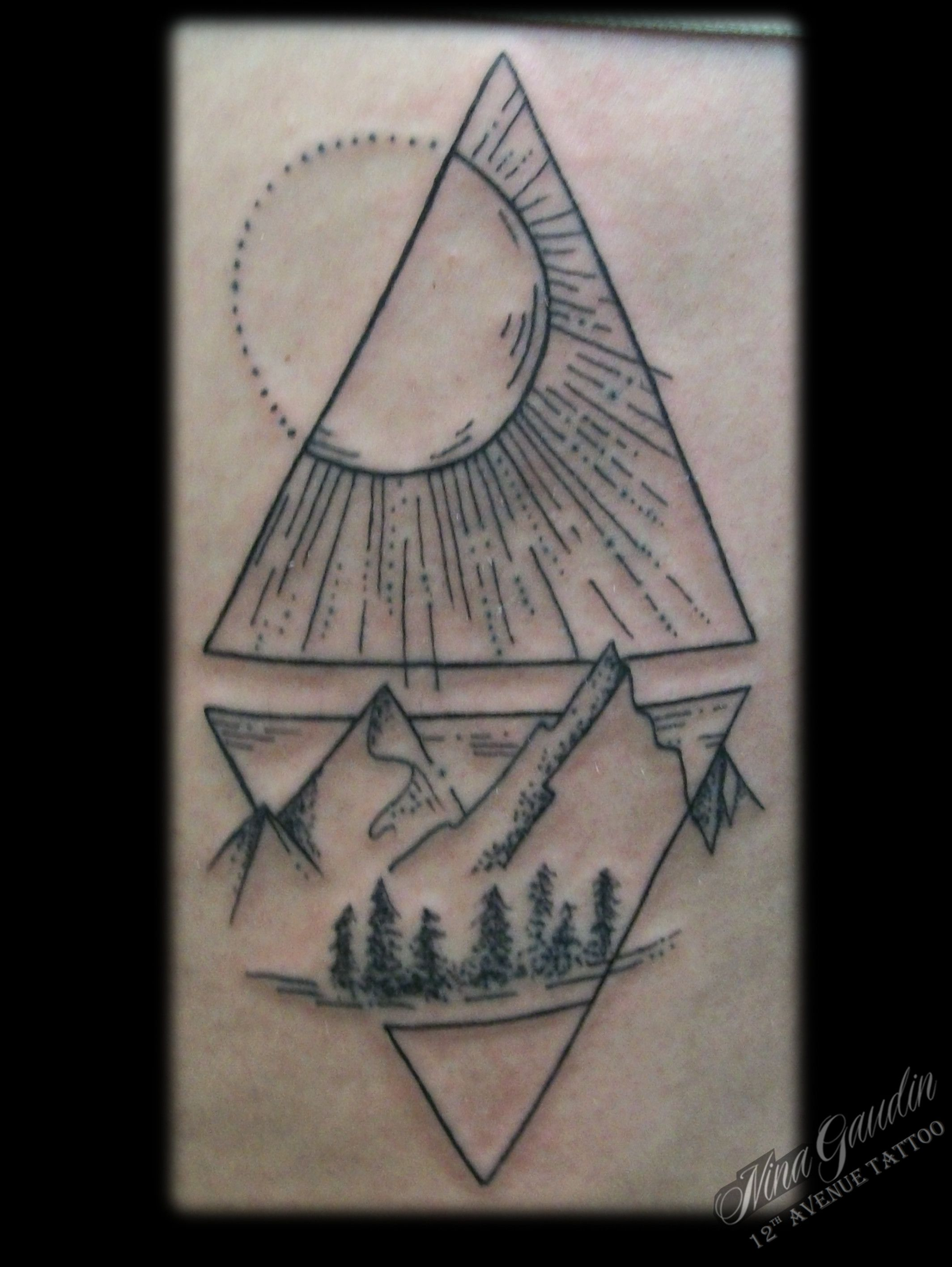 Sun and moon tattoo Tattoos, Moon tattoo, Dreamcatcher