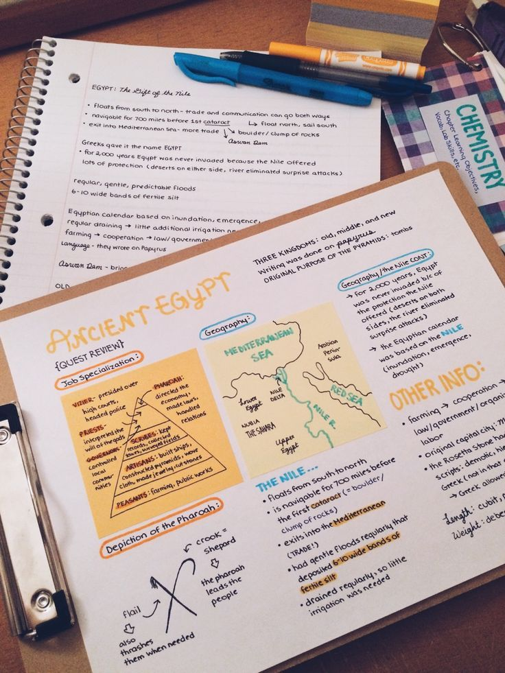 Photo of || study, notes, read, writing, pastel colors, uni… – #colors #first #notes #p…