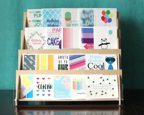 Assorted Bulk Birthday Card Set Boxed Greeting Card Assortment For Men And Women Gender Neutra Card Set Box Birthday Cards Card Set