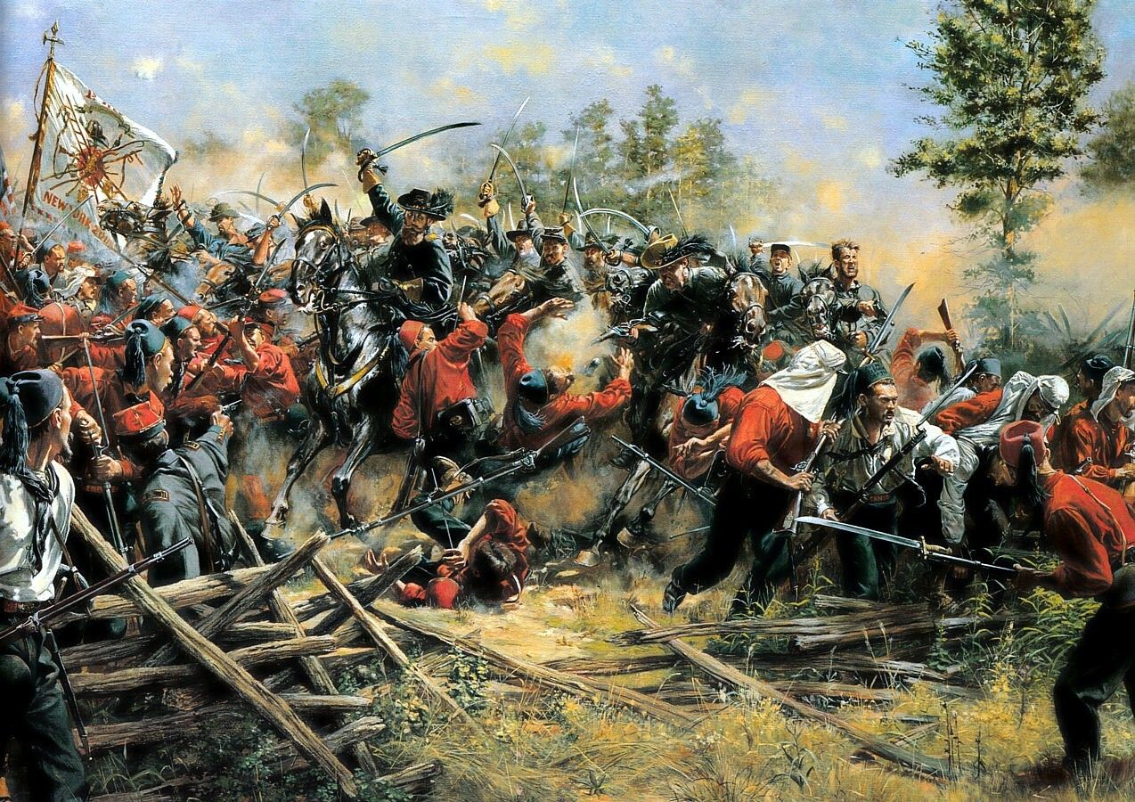 Image result for civil war zouaves manassas