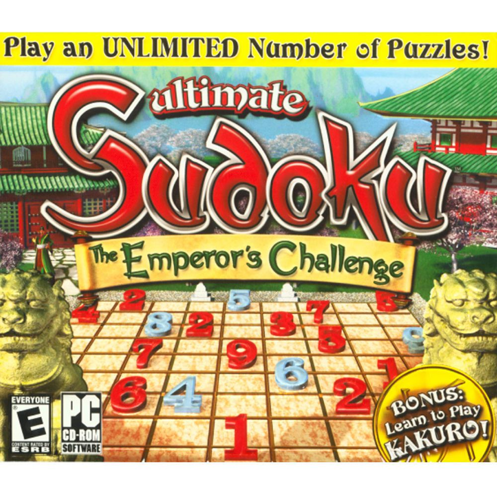 Ultimate Sudoku The Emperor's Challenge PC Puzzles game