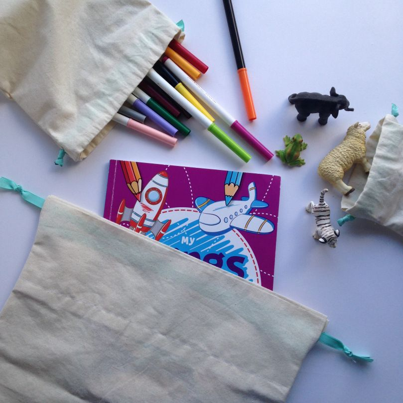 Fun busy bags to keep your kids well busy, when you're out and about.