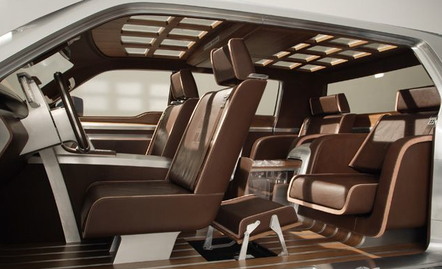 Ford Super Chief Interior