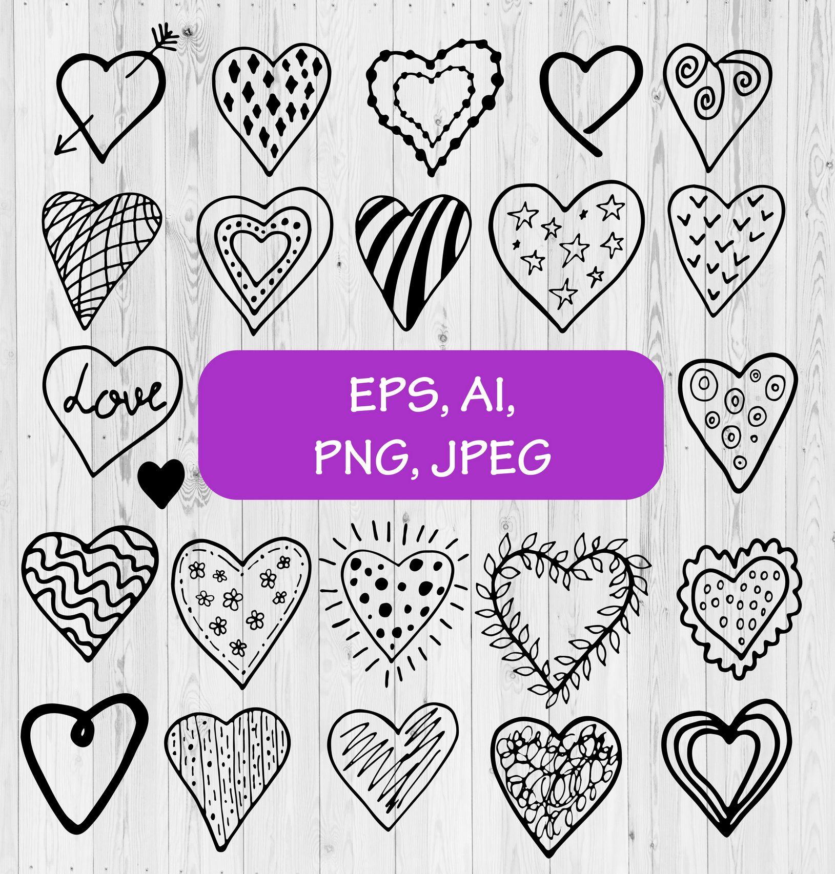 Valentines Day Clipart Png Valentine Clipart 22 Black And White Hearts Valentines Day Clipart Clip Art Valentine Clipart