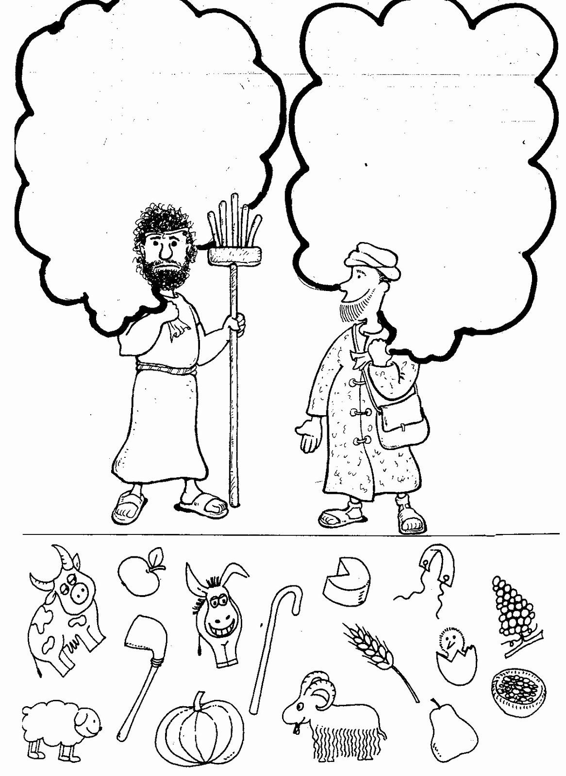 24 Cain And Abel Coloring Page In