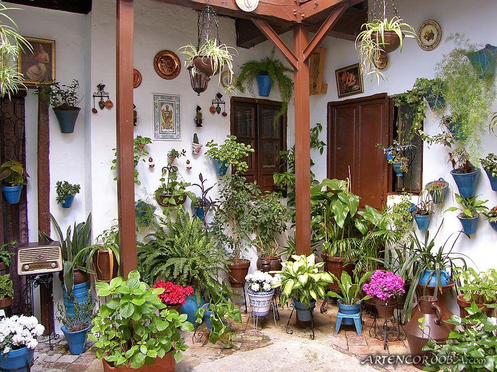 Mayo cordob s patios mexicanos y andaluces - Patios andaluces decoracion ...