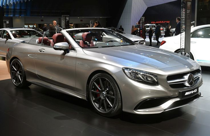 Awesome Mercedes 2017: 2016 Mercedes-AMG S63 4MATIC Cabriolet ...