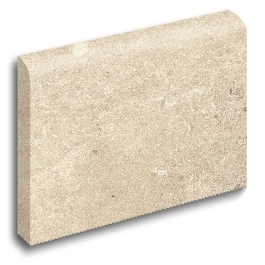 $3.28 Lowes - Style Selections Logical Honey Porcelain Bullnose Tile ...