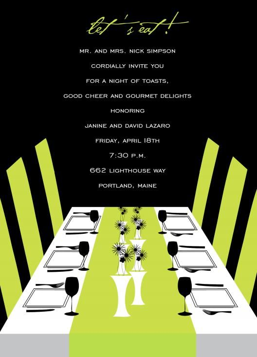 Toasts And Good Cheer Rehearsal Dinner Invitations by Invitation - best of invitation wording birthday dinner party
