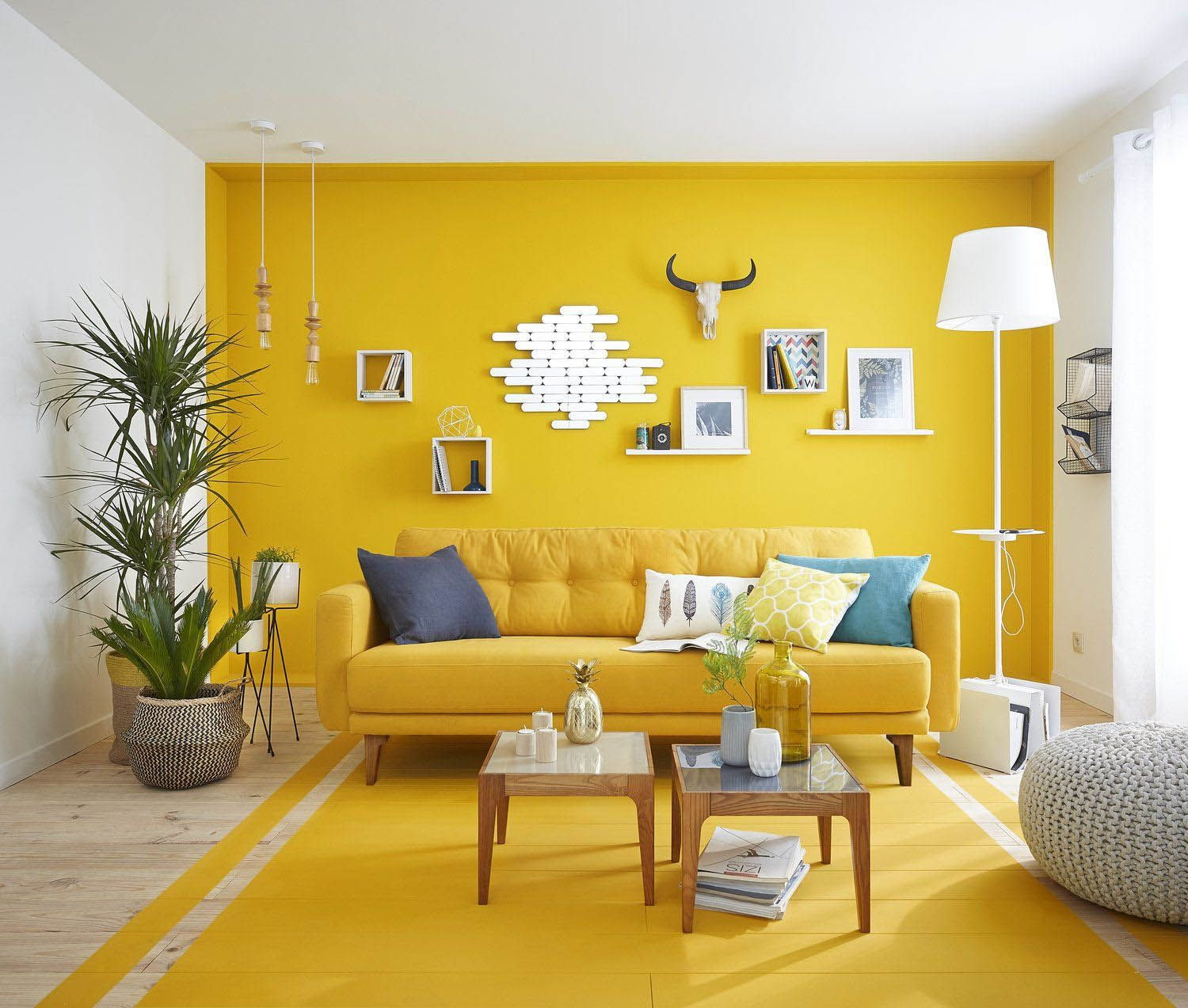 3 Stimulating Ways to Use Yellow In Your Staying Space  Yellow